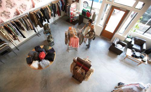 Boutique birdseye indoor